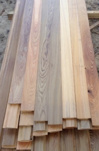 Heart Cypress Louvers