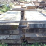 "Cypress Slabs, 16ft long, 3"" Thick"