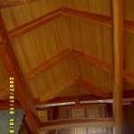 19 Select Cypress Ceiling, V-Groove Pattern