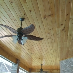14 Common Cypress, Patio Ceiling, Tongue & Groove V-Joint