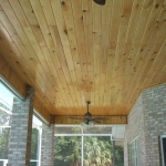 15 Common Cypress, Patio Ceiling, Tongue & Groove V-Joint