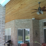 16 Common Cypress, Patio Ceiling, Tongue & Groove V-Joint