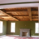 5 Old Growth Pecky Ceiling 1x8 Coffers