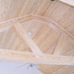 11 Select Cypress Tongue & Groove Ceiling, Timbers, Alternate View
