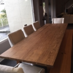 5 Heart Cypress Table