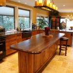 34 Old Growth Pecky Kitchen Island