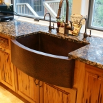 37 Old Growth Pecky Kitchen Cabinetry
