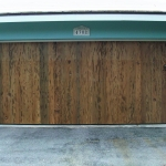 13 Old Growth Pecky Garage Door