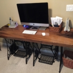 23 Old Growth Heart Cypress Desk