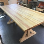6 Cypress Select Trestle Table
