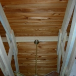 8 Common Cypress, Ceiling, Tongue & Groove V-Joint