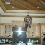 53 Select Cypress Kitchen, Pecky Ceiling