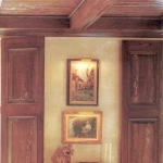 46 Old Growth Pecky Ceiling, Accents