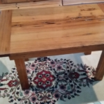 78 Old Growth Pecky Table, Zambetti