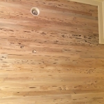 75 Old Growth Pecky Ceiling Close-up, Whitewash Stain