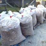 1/2 Cubic Yard Bagged Cypress Mulch Chips
