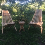 Heart Cypress Chairs