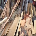 Pecan, Black Jack Oak, Cypress Cut-offs, Trim Pieces