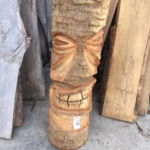 Palm Tree Tiki Carvings