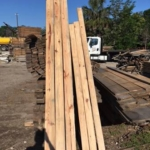 1x4 = .15 cents per foot! 350 pieces, 8ft long each. 933 SqFt! $420 total!