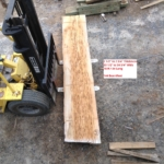 """2 1/2"""" to 2 3/4"""" Thick 33 1/2"""" to 34 3/4"""" Wide 18-ft 1-in Long"""