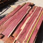 """Planed smooth both faces (net 3/4"""" thick)! Mix of both 1 LIVE EDGE or both edges straight!"""
