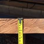 """Sycamore B - 2 1/2"""" Thick x 29"""" Wide x 7ft 4-in Long. 44 Boardfoot."""